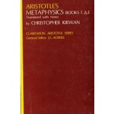 Aristotle's Metaphysics- books Gamma, Delta and Epsilon