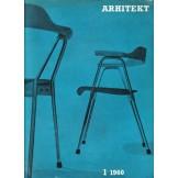 Arhitekt - revija za urbanizem, arhitekturo in oblikovanje, br. 1-6 (1960.) i 1-3 (1961.)