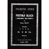 Povijestne crtice o pustinji Blaca (eremo Blazza) na otoku Braču