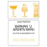 Barman u aperitiv baru