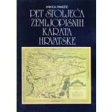 Pet stoljeća zemljopisnih karata Hrvatske - katalog izložbe