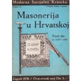 Masonerija u Hrvatskoj