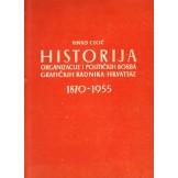 Historija, organizacije i politička borba grafičkih sindikata Hrvatske 1870-1955