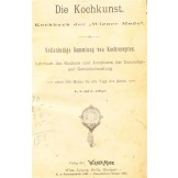 Die Kochkunst - Kochbuch der Wiener Mode