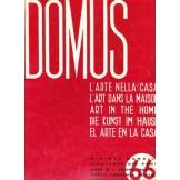 Domus - L\'arte nella casa, rivista mensile, numero 66