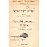 Povijest Istre / Narodni preporod u Istri