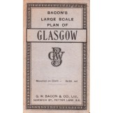 Bacon`s Large Scale Plan of Glasgow