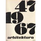 Arhitektura br. 93-94 (1947-1967)