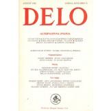 Delo - mesečni časopis za teoriju, kritiku i poeziju br. 8, god.XXVII