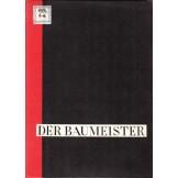 Der Baumeister, jahrgang 32., heft 1-12, 2 bande, tafel 1-63, 66-129