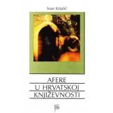 Afere u hrvatskoj književnosti
