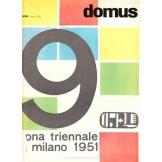 Domus - 1951. numero 259 (IX triennale di Milano)