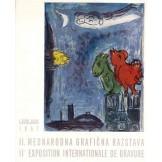 2. mednarodna grafična razstava Ljubljana 1957. - katalog izložbe