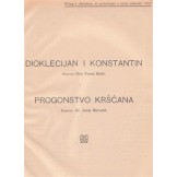 Dioklecijan i Konstantin / Progonstvo kršćana / Smrt cara Dioklecijana