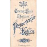 Gebruder Senf's Illustrierter Postwerzeichen Katalog 1901.