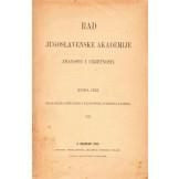 Rad Jugoslavenske akademije znanosti i umjetnosti (JAZU) - br. 121