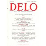 Delo - mesečni časopis za teoriju, kritiku i poeziju br. 7, god. 1986.