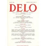 Delo - mesečni časopis za teoriju, kritiku i poeziju br. 3, god. 1985.