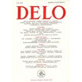 Delo - mesečni časopis za teoriju, kritiku i poeziju br. 7, god. 1985.