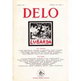 Delo - mesečni časopis za teoriju, kritiku i poeziju br. 4, god. 1974.