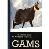 Gams: Prirodoslovje - Obnašanje - Ekologija - Gojitev in lov - Bolezni