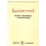Hermeneutika - Teorija tumačenja i razumevanja - Delo god. 19., br 4/5