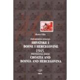 Privremena izdanja Hrvatske i Bosne i Hercegovine 1945.