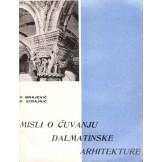 Misli o čuvanju dalmatinske arhitekture