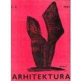 Arhitektura - časopis za arhitekturu, urbanizam i primijenjenu umjetnost, god 15., br. 1-2