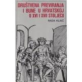 Društvena previranja i bune u Hrvatskoj u 16. i 17. stoljeću