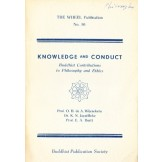 Knowledge and Conduct - Buddhist Contributions to Philosophy and Ethics