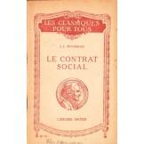Le Contrat social ou principes du droit politique