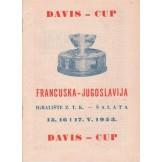 Davis - cup Francuska - Jugoslavija 1953.