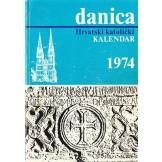 Danica - Hrvatski katolički kalendar za godinu 1974.
