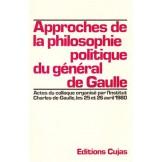 Approches de la philosophie politique du général de Gaulle à partir de sa pensée et de son action