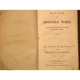 Handbuch des canonischen Rechts und seiner Anwendung in den teut