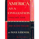 America as a Civilization 1.-2.