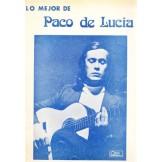 Lo mejor de Paco de Lucía (partituras)