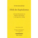 Ethik des Kapitalismus