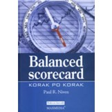 Balanced scorecard : korak po korak : maksimiziranje učinka i održavanje rezultata