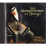 20 grandes cantores del tango CD